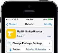 سيديا: أداة MailUnlimitedPhotos لإزالة القيد في إرسال الصور عبر تطبيق البريد