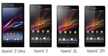 أندرويد كيت كات قادم لأجهزة: Xperia Z, ZL, ZR و Tablet Z