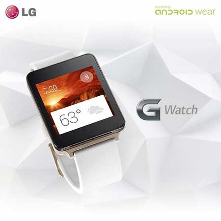 ساعة LG G Watch الذكية
