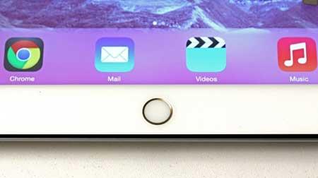 Ipad : سيأتي بمستشعر البصمات أو ما يسمى ب Touch ID