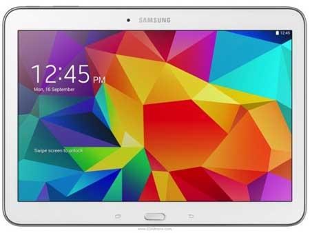 جهاز Galaxy Tab 4 10.1 الأبيض