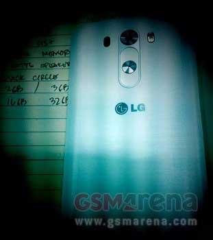 صورة مسربة تظهر إعادة تصميم لهاتف LG G3