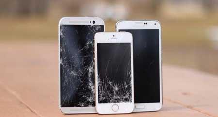 الأيفون 5s وجالاكسي S5 وHTC One M8