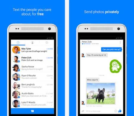 تحديث تطبيق Facebook Messenger للاندرويد والأيفون