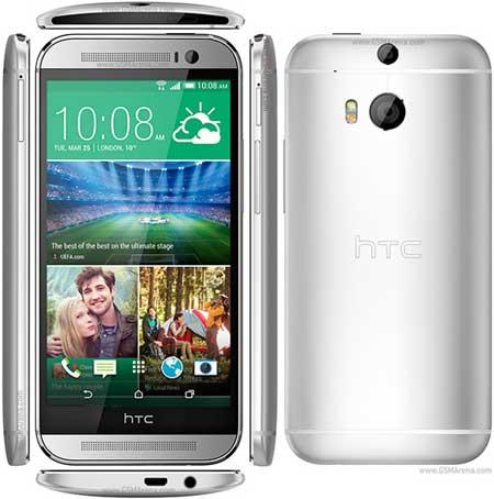 HTC One M8 مصنوع من البلاستيك