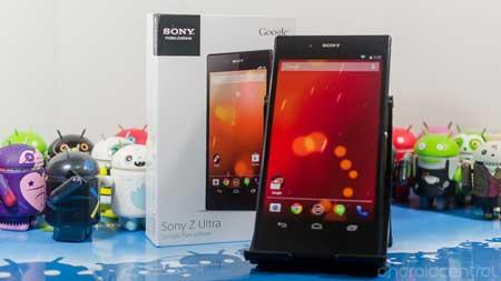 هاتف Sony Z Ultra Google Play سيحصل على كيت كات 4.4.3