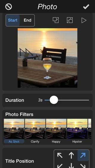 تطبيق PhotoMotion تصميم فيديو من صورك