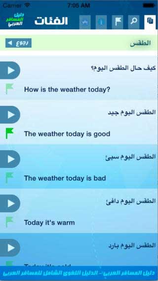 تطبيق دليل المسافر العربي