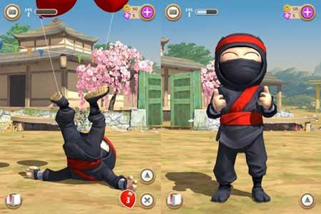 لعبة Clumsy Ninja