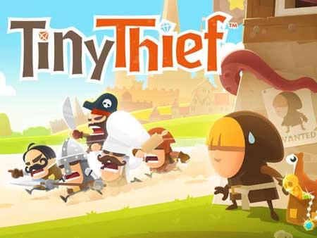 لعبة Tiny Thief للايفون والايباد