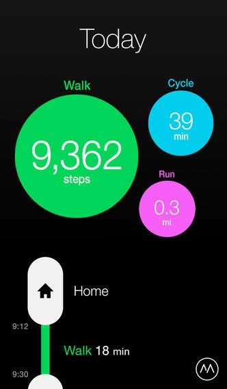تطبيق Moves للرياضيين ومتابعة نشاطاتك اليومية - مجانا لوقت محدود !