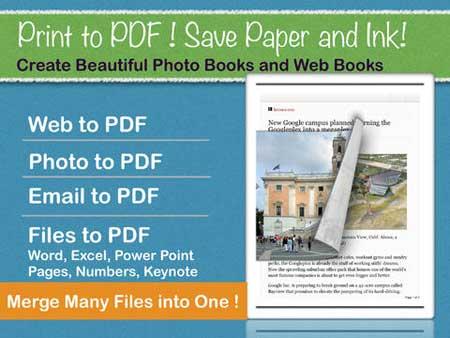 تطبيق Instant PDF للتحويل لصيغة PDF