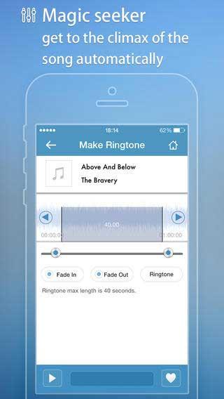 تطبيق Ringtone Master لانشاء نغمات ايفون
