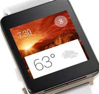 ساعة LG G Watch الذكية ستتوفر باللون الذهبي أيضا