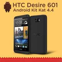 هاتف HTC Desire 601 يحصل على تحديث كيت كات