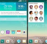 صورة تسريب صور شاشة LG G3 ومواصفاته القادم قريبا
