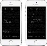 صورة سيديا: أداة Timely لتغيير طريقة عرض شاشة القفل