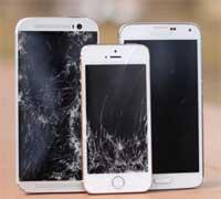 فيديو: اختبار سقوط الأيفون 5s وجالاكسي S5 و HTC One M8