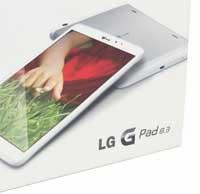 جهاز G Pad 8.3 يحصل على تحديث كيت كات