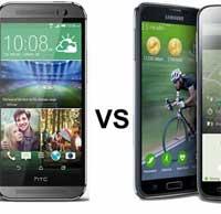 HTC One M8 أفضل من جالاكسي S5 ؟