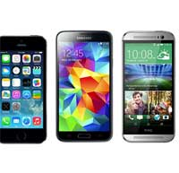 اختبار صلابة نيكسوس 5 و HTC M8 وجالاكسي S5 والايفون 5s
