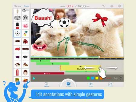 تطبيق Write-on Video للكتابة على الفيديو