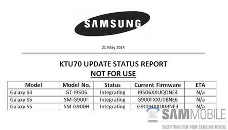 كيت كات 4.4.3 لجالاكسي S5 وجالاكسي S4