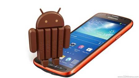 جهاز Galaxy S4 Active يحصل على أندرويد كيت كات