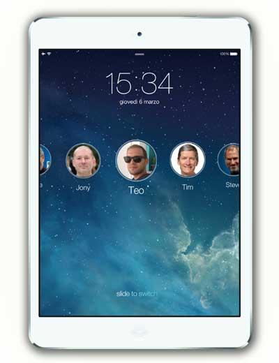 ميزة الحسابات المتعددة في iOS 8