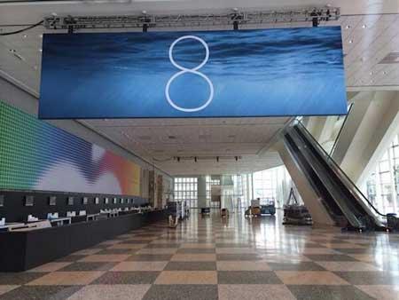 شعار نظام iOS 8