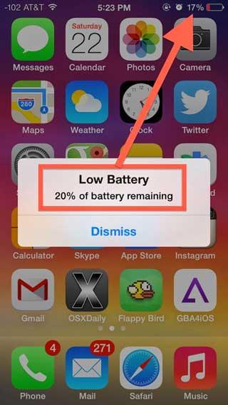 إصلاح مشكلة بطارية الأيفون