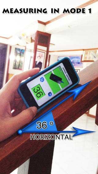 تطبيق iAngle Meter PRO