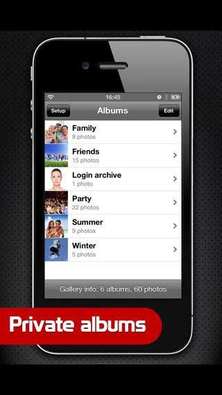 تطبيق PhotoVault لإخفاء صورك للأيفون