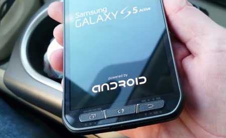 صور وفيديو هاتف Galaxy S5 Active