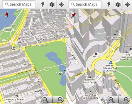 تحديث تطبيق خرائط جوجل