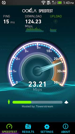 تطبيق Speedtest.net