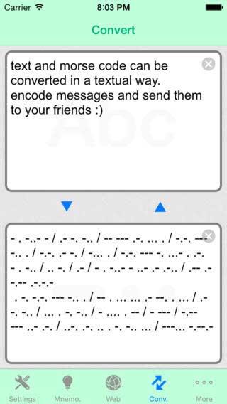 تطبيق Morse-It