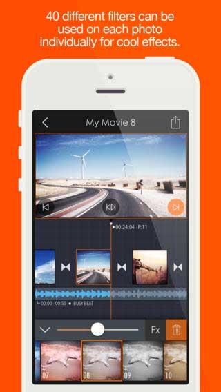 تطبيق Pics2Mov Pro