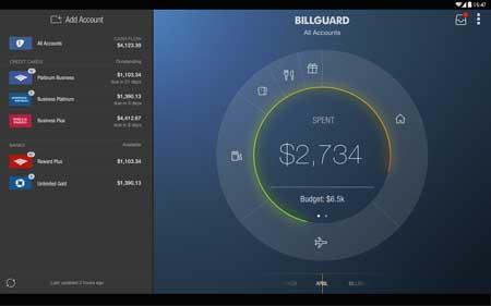 تطبيق BillGuard للأندرويد