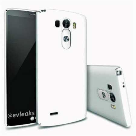 LG g3 أبيض