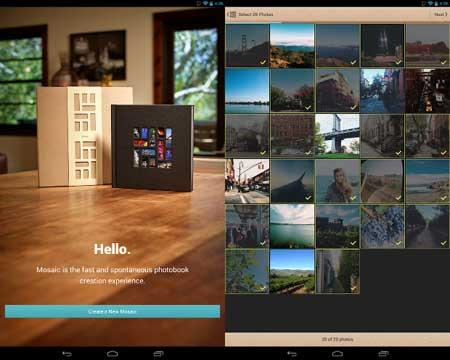 تطبيق Mosaic Photo Books
