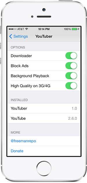 أداة YouTuber للتحميل من يوتوب للأيفون والآيباد