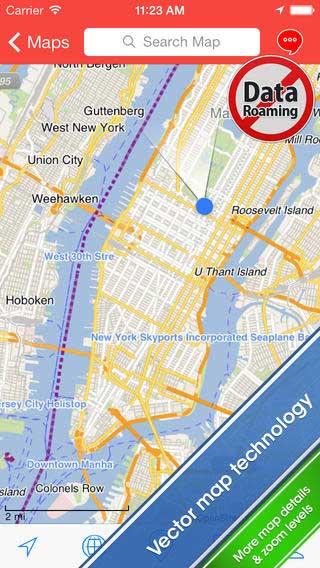 تطبيق City Maps 2Go Pro للأيفون والآيباد
