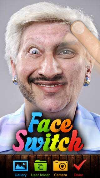 تطبيق Face Switch لتغيير الوجوه