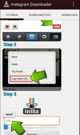 تطبيق Video Downloader for Instagram