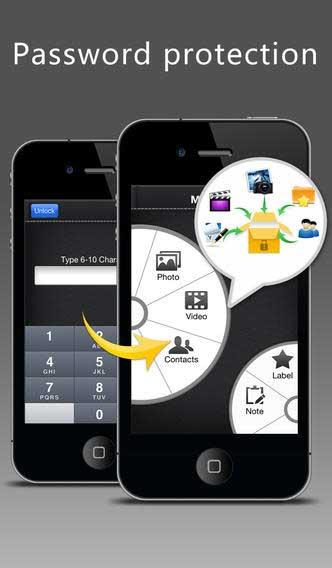 تطبيق MyFolder Pro