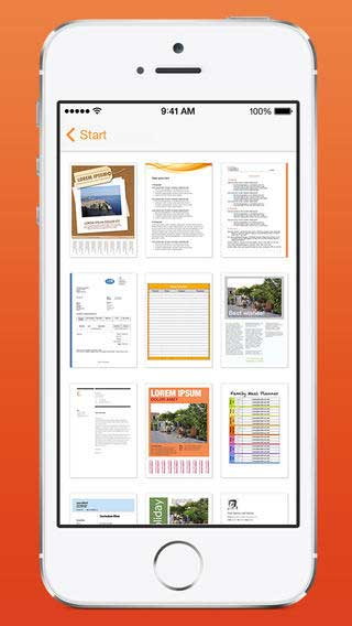 تطبيق Templates for Pages Pro