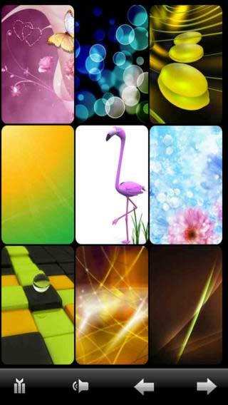 تطبيق Splish Splash Color Backgrounds Pro