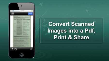 تطبيق Scanner ® Pro لتحويل أيفونك إلى ماسح ضوئي
