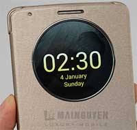 صور غطاء QuickCircle لجهاز LG G3 الرائع والذكي